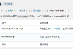 WordPress Drop-in 高级插件