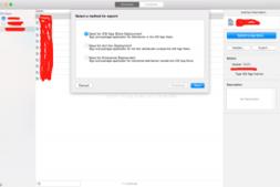 iOS 导出 ipa 包时 三个选项的意思